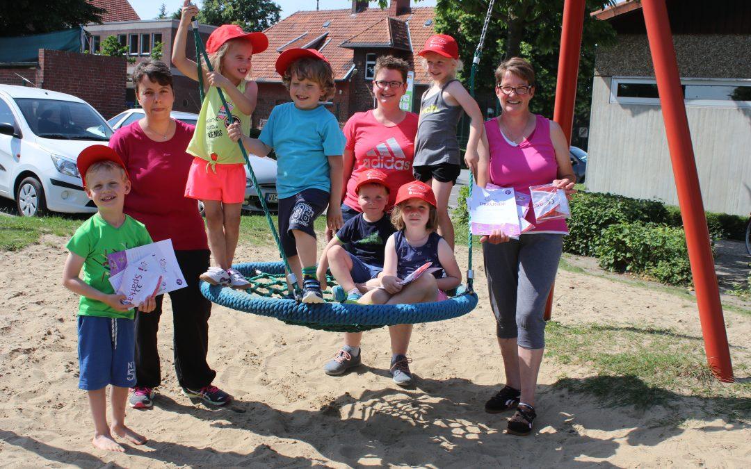 Kinderbewegungsabzeichen – Sport mit Spaß