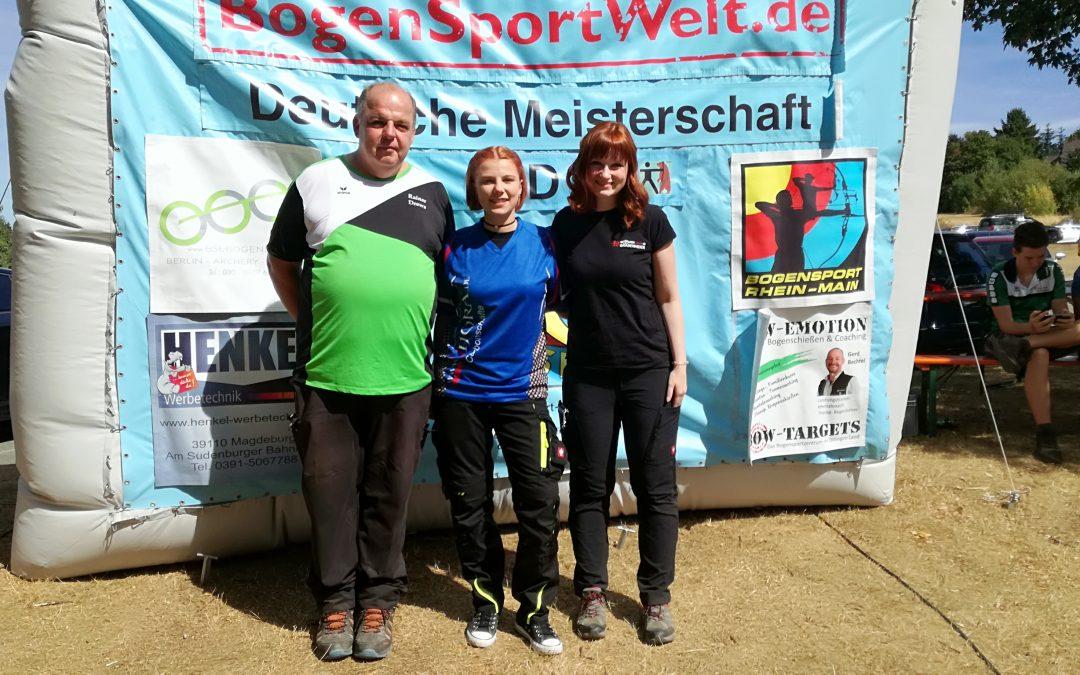 Deutsche Meisterschaften 3D & DBSV-Runde im Freien BoV erfolgreich gemeistert