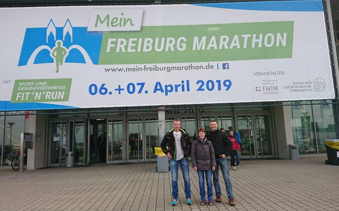SV Diestedde beim Freiburg-Halbmarathon