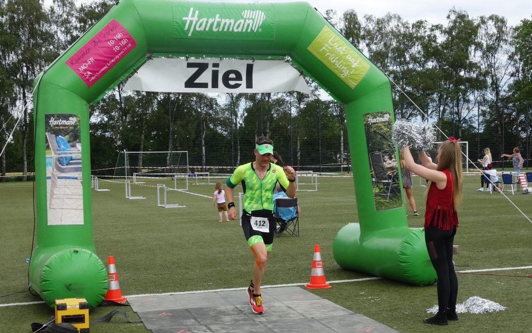 Achim Hoheisel beim Kamener Triathlon