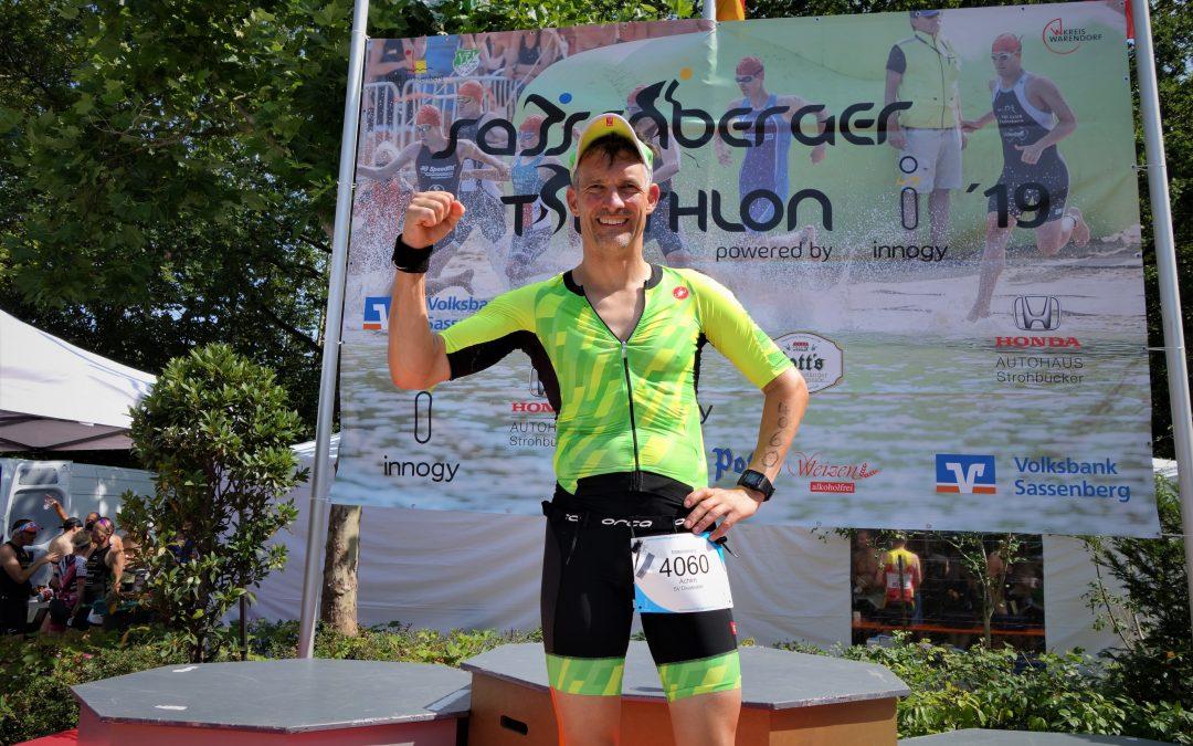 Achim Hoheisel beim Sassenberger Triathlon